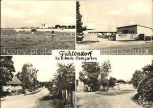 Fuhlendorf Darss Strand Ferienheim der Deutschen Post Dorfstrasse / Fuhlendorf Darss /Nordvorpommern LKR