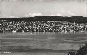 Zollikon Vom See aus gesehen / Zollikon /Bz. Meilen