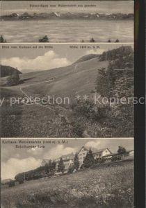 Weissenstein SO Berner Alpen Blick vom Kurhaus auf die Roethe Kurhaus Weissenstein / Weissenstein Solothurn /Bz. Lebern