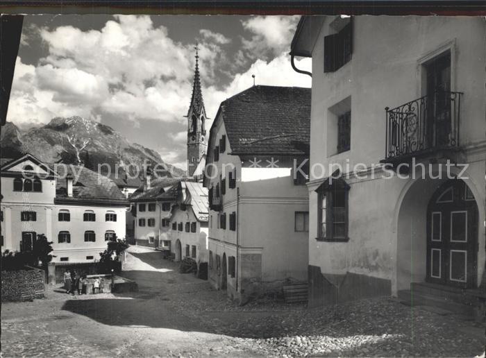 Sent Dorfpartie Kirche / Sent /Bz. Inn