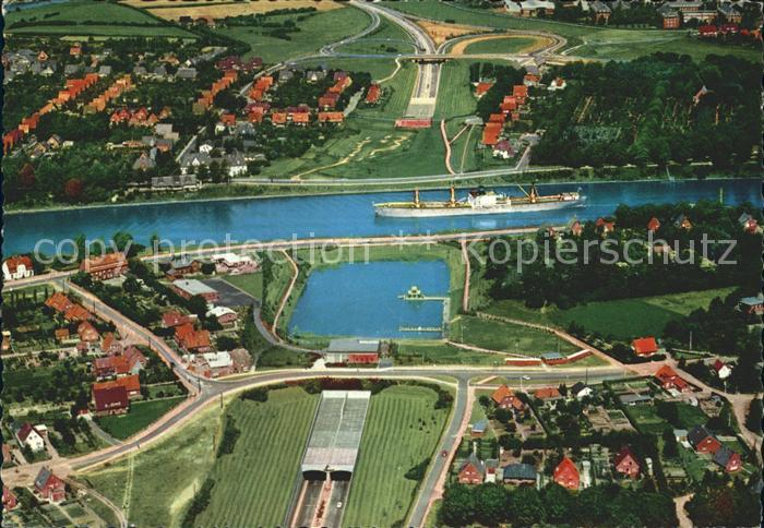 Rendsburg Fliegeraufnahme / Rendsburg /Rendsburg-Eckernfoerde LKR