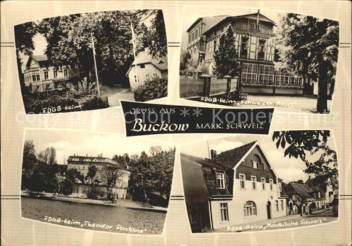 Buckow Maerkische Schweiz FDGB- Heim Theodor Fontane  / Buckow Maerkische Schweiz /Maerkisch-Oderland LKR