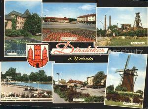 Dinslaken Kreishaus Muehle Zeche Lohberg / Dinslaken /Wesel LKR