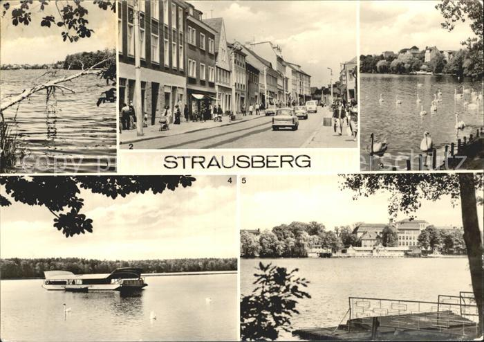 Strausberg Brandenburg Grosse Strasse Faehre  / Strausberg /Maerkisch-Oderland LKR
