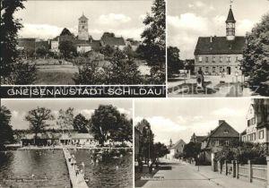 Schildau Freibad Bahnhofstrasse  / Schildau Gneisenaustadt /Nordsachsen LKR