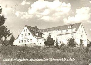 Schmiedefeld Rennsteig Erholungsheim Schoene Aussicht / Schmiedefeld Rennsteig /Ilm-Kreis LKR