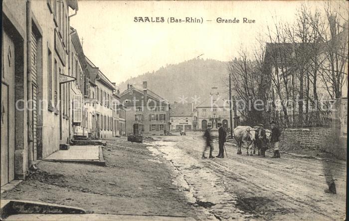Saales Grande Rue / Saales /Arrond. de Molsheim