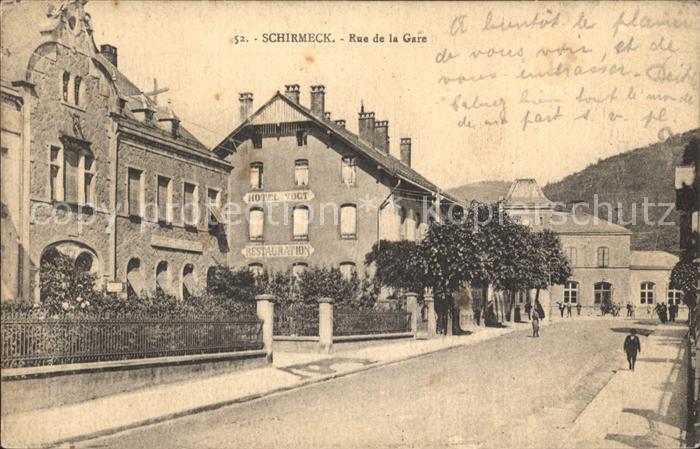 Schirmeck Rue de la Gare / Schirmeck /Arrond. de Molsheim