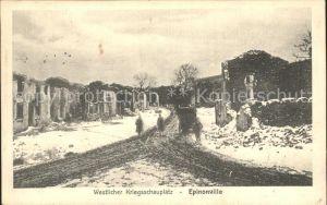 Epinonville Ruinen Westlicher Kriegsschauplatz 1. Weltkrieg / Epinonville /Arrond. de Verdun