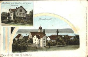 Feusisberg Gasthaus Pension zur frohen Aussicht Kirche / Feusisberg /Bz. Hoefe