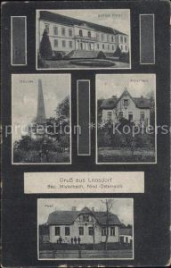 Loosdorf Schloss Platti Obelisk Forsthaus Post / Loosdorf /Mostviertel-Eisenwurzen