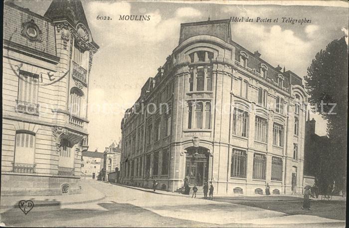 Moulins Aisne Hotel des Postes et Telegraphes / Moulins /Arrond. de Laon