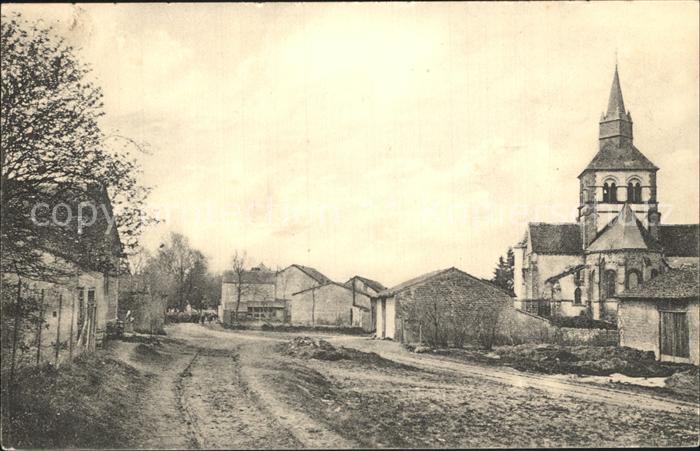 Heutregiville Dorfpartie / Heutregiville /Arrond. de Reims