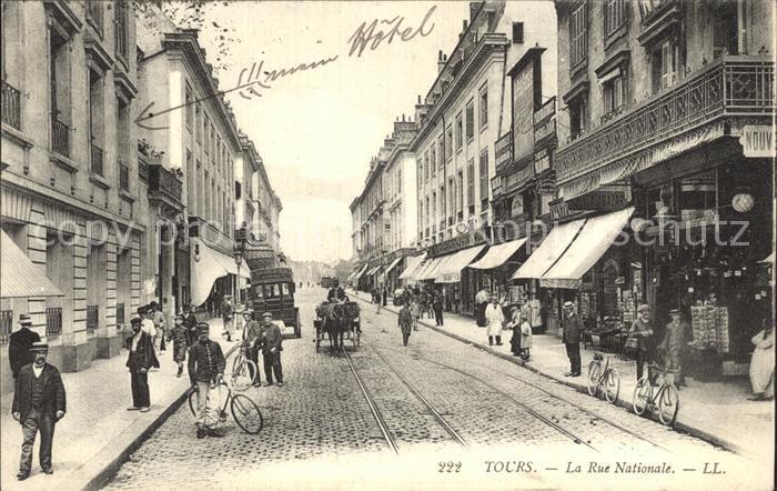 Tours Indre-et-Loire Rue Nationale / Tours /Arrond. de Tours