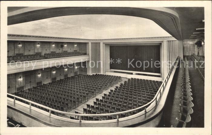 Leuna Walter Ulbricht Feierabendhaus Grosser Theatersaal / Leuna /Saalekreis LKR