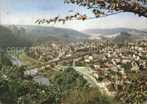 Bad Muenster Stein Ebernburg Gesamtansicht / Bad Muenster am Stein-Ebernburg /Bad Kreuznach LKR