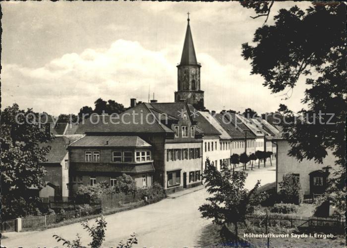 Sayda Kirche / Sayda /Mittelsachsen LKR
