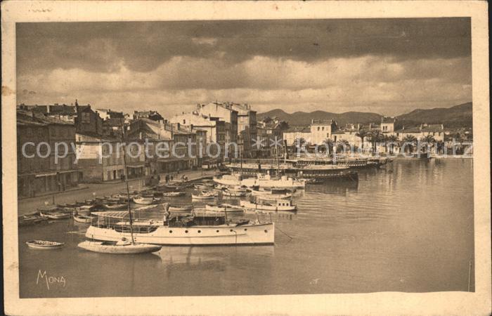 La Seyne-sur-Mer Le Quai du Port et le Port / La Seyne-sur-Mer /Arrond. de Toulon