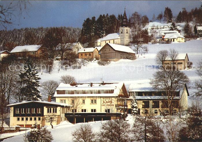 Warmensteinach Hotel Krug Fichtelbebirge / Warmensteinach Fichtelgebirge /Bayreuth LKR