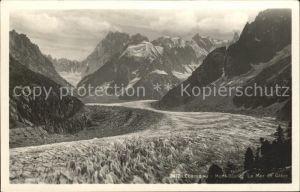 Chamonix Mont Blanc la Mer de Glace Kat. Chamonix Mont Blanc