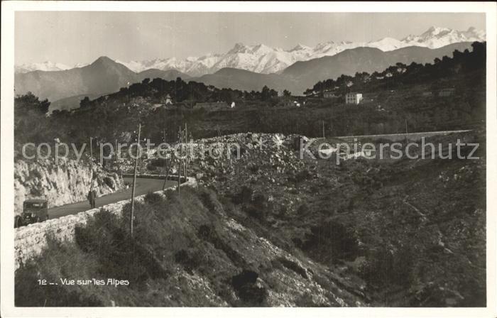 Vue des Alpes  Kat. Vue des Alpes