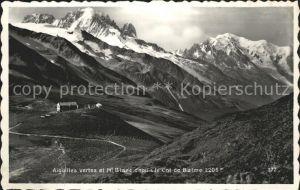 Aiguilles Mont Blanc Kat. Aiguilles