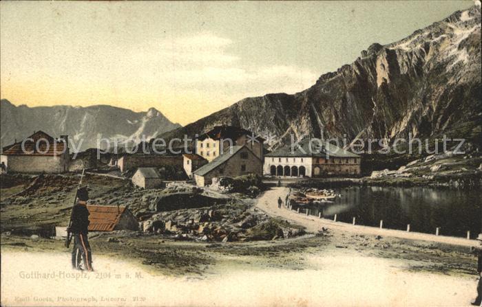 St Gotthard Hospiz st gotthard gotthard hospiz gotthard st nr dp51167 oldthing