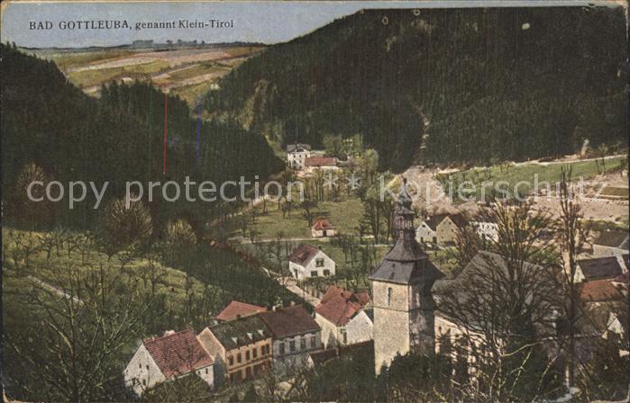 Bad Gottleuba Berggiesshuebel Klein Tirol Kat. Bad Gottleuba Berggiesshuebel