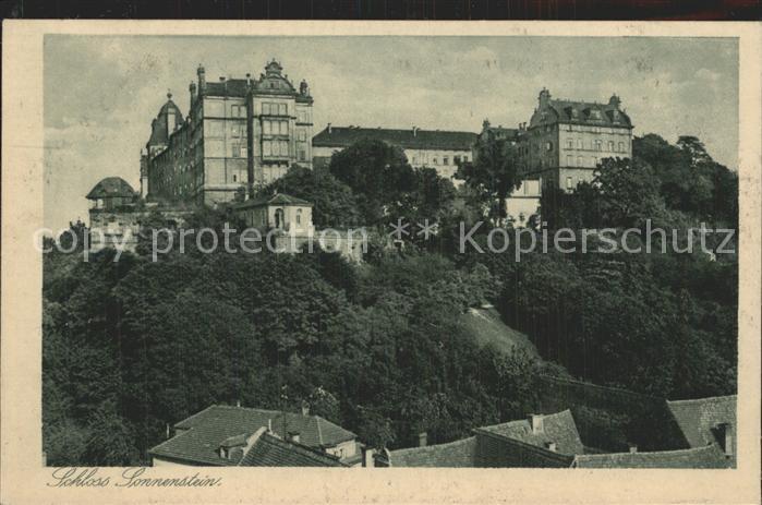 Pirna Schloss Sonnenstein Kat. Pirna