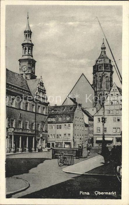 Pirna Obermarkt Kat. Pirna