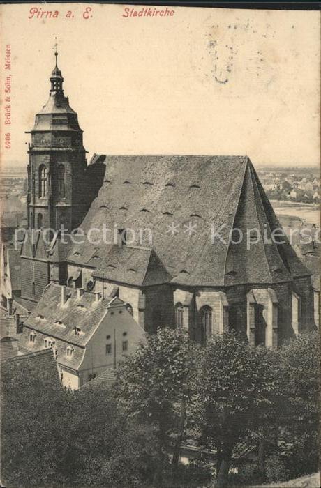 Pirna Stadtkirche Kat. Pirna