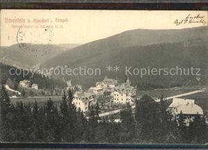 Baerenfels Erzgebirge Teilansicht Kat. Altenberg