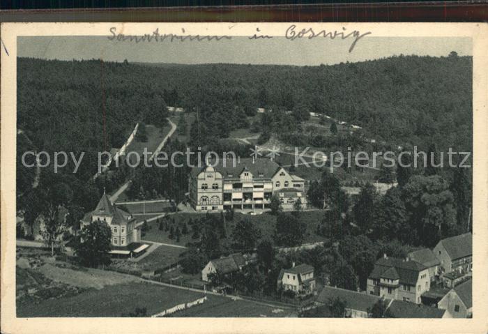 Coswig Sachsen Sanatorium der Landesversicherungsanstalt Kat. Coswig