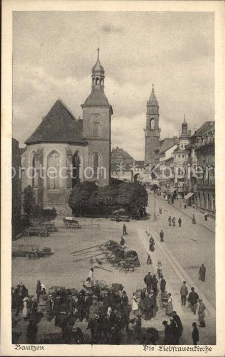 Bautzen Liebfrauenkirche Serie Saechsische Heimatschutz Postkarten Kat. Bautzen