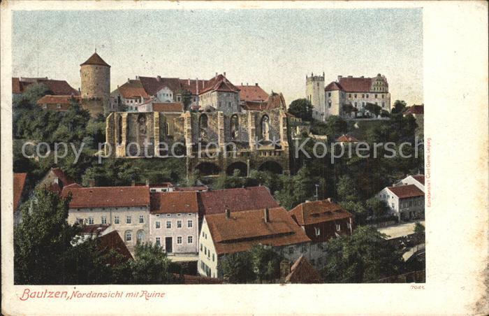 Bautzen Altstadt Nicolairuine Kat. Bautzen