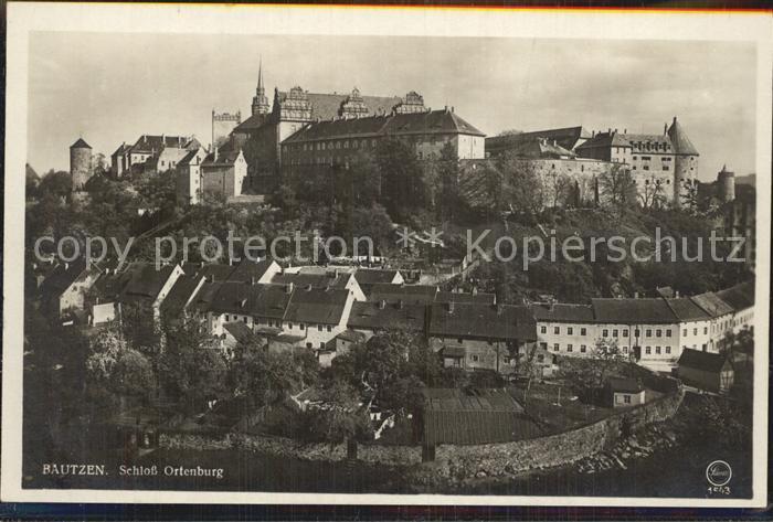 Bautzen Schloss Ortenburg Kat. Bautzen