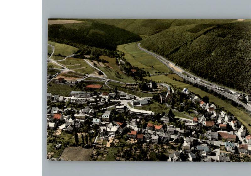 Michelbach Aarbergen Fliegeraufnahme / Aarbergen /Rheingau-Taunus-Kreis LKR