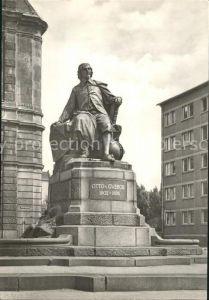 Magdeburg Otto von Guericke  Denkmal Kat. Magdeburg