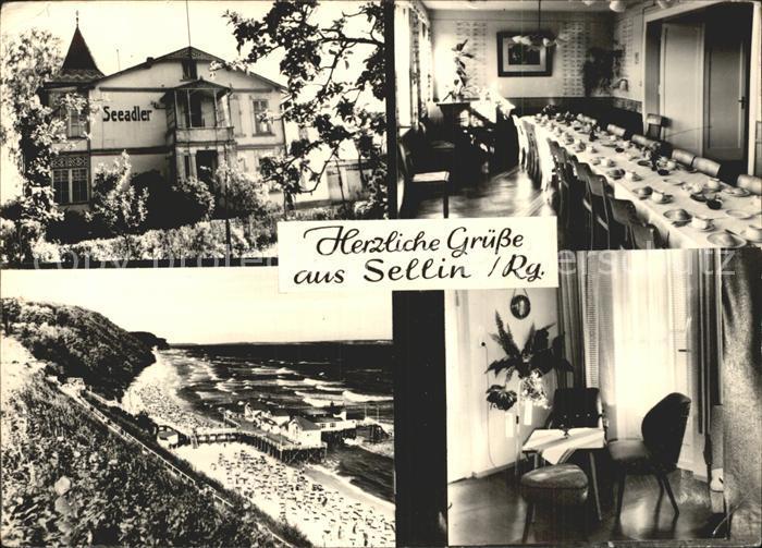 Sellin Ruegen Haus Seeadler Kat. Sellin Ostseebad