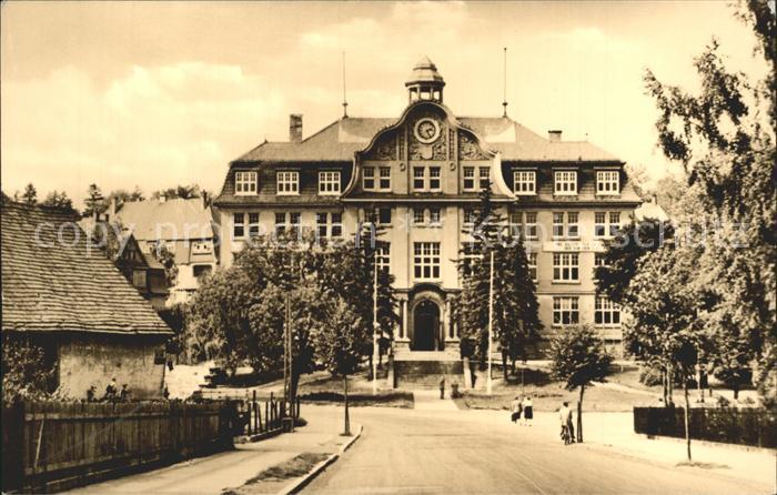 Gotha Thueringen Fachschlule Bauwesen  Kat. Gotha