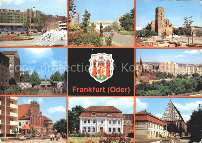 Frankfurt Oder Hotel Stadt Frankfurt Rathaus Karl Marx Strasse  Kat. Frankfurt Oder