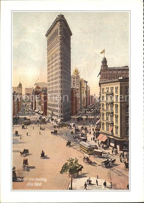 New York City Flat Iron Building