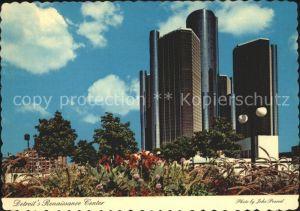 Detroit Alabama Renaissance Center Kat. Detroit