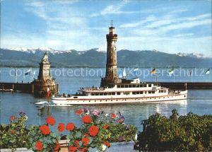 Lindau Bodensee Hafen Kat. Lindau (Bodensee)