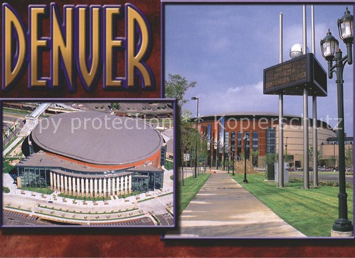 Denver Colorado Pepsi Center Kat. Denver