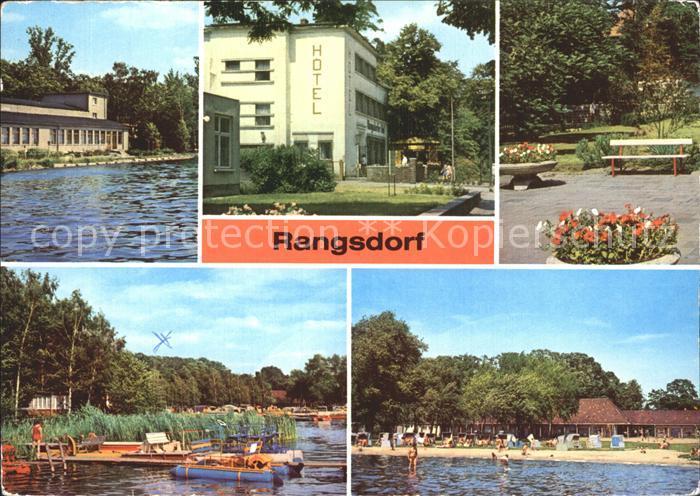 Rangsdorf  Kat. Rangsdorf