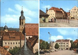 Dippoldiswalde Osterzgebirge Kirche Platz der Jugend Kat. Dippoldiswalde