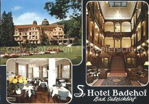 Bad Salzschlirf Hotel Badehof Kat. Bad Salzschlirf
