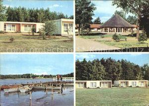 Milmersdorf Uckermark Ortsteil Ahrendorf Erholungsheim Leuna Werke / Milmersdorf /Uckermark LKR