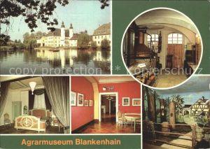 ks12914 Blankenhain Thueringen Agrarmuseum Barockschloss Kat. Blankenhain Thueri